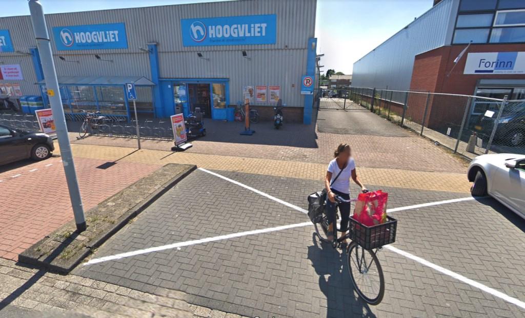 Net boodschappen gedaan in Hoogvliet aan de Graftermeerstraat. Google © BDU media