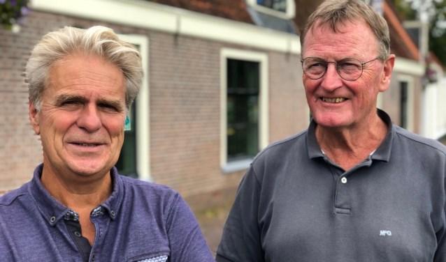 Ad van Fessem en Henk van Keulen.