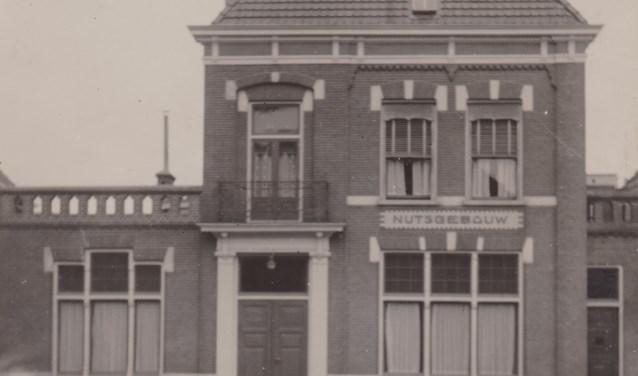 Het Nutsgebouw aan de Kleterstraat heeft een veelzijdige geschiedenis.