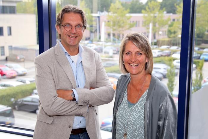 Nils Zelle en Annemiek Kruse