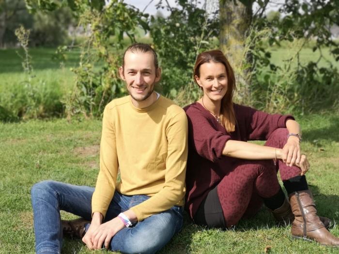 Organisatoren Bravon van Zutphen en Natascha van Achterbergh