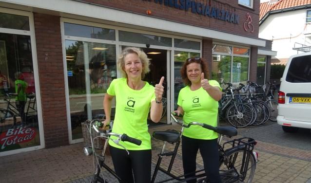 Anne-Marie Blomesath en Arianne van Soest zijn er klaar voor.