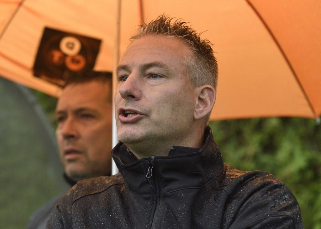 Rood Wit'58: Trainer Albert van Nijhuis Henk Hutten © BDU media
