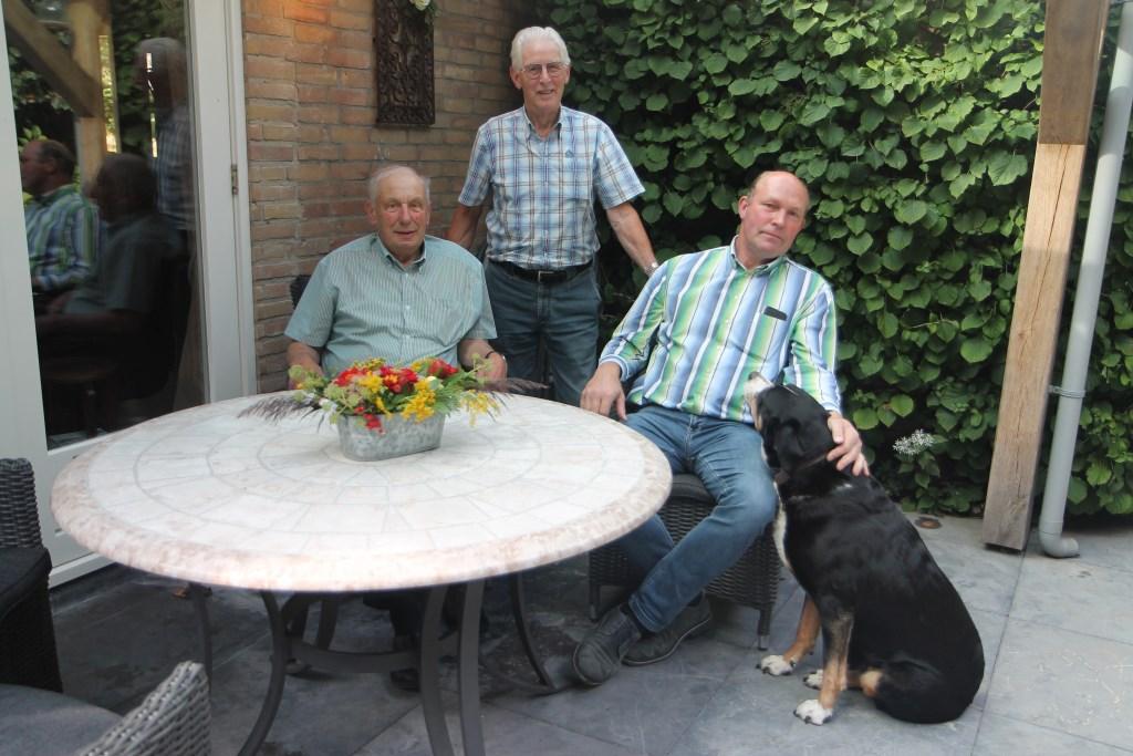 Van links naar rechs: Tijme Westeneng, Jaap Rijlaarsdam en Wim Wolswinkel. Hannie van de Veen © BDU media