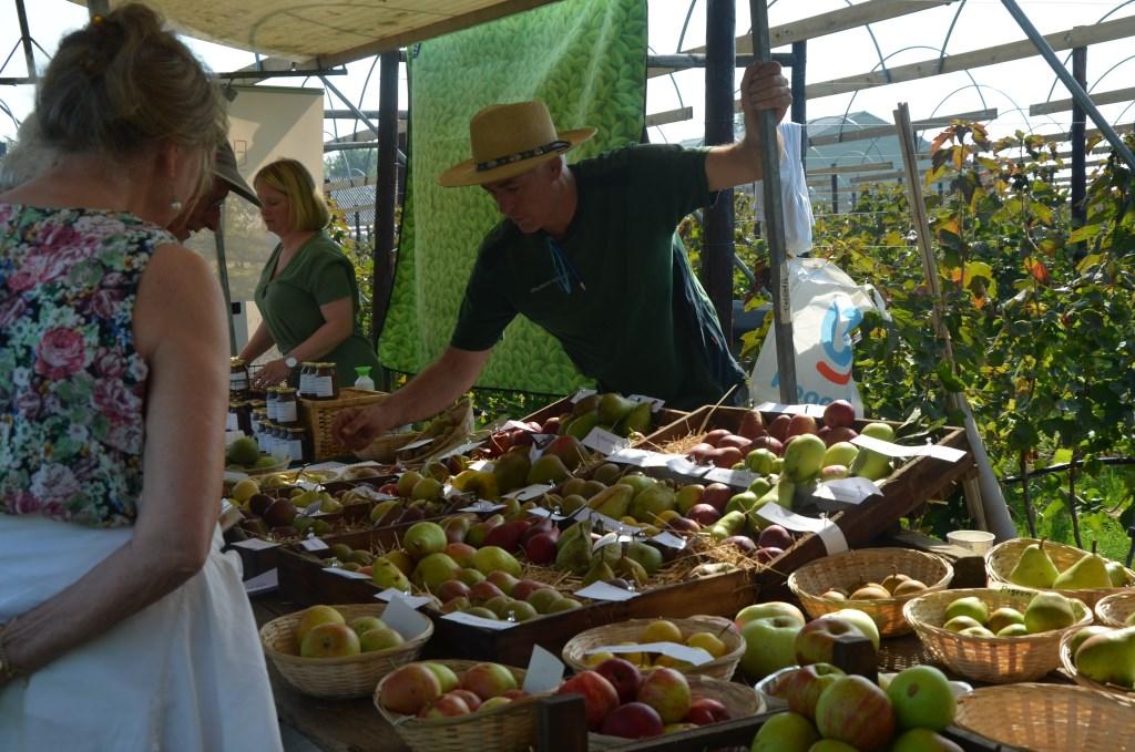 Heel veel soorten appels Ali van Vemde © BDU media
