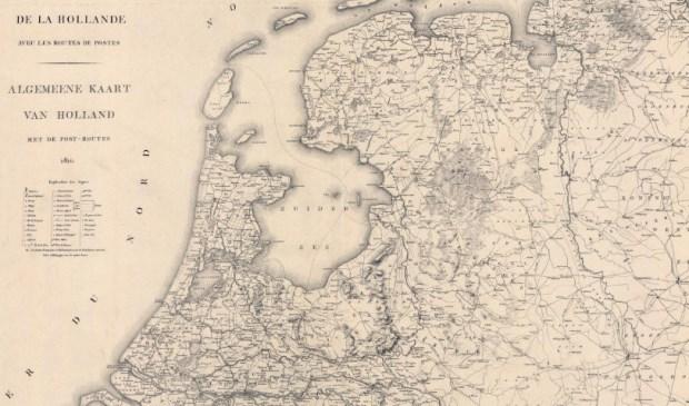 Nederland in 1815.