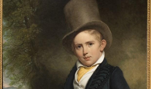 Charles Howard Hodges (1764-1837), A.J.B. Wattendorff op vijfjarige leeftijd, 1832/