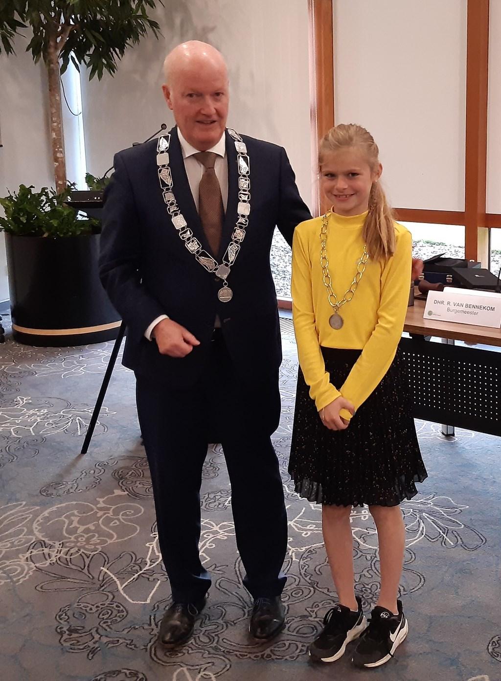 De twee Bunnikse burgemeesters Kuun Jenniskens © BDU media
