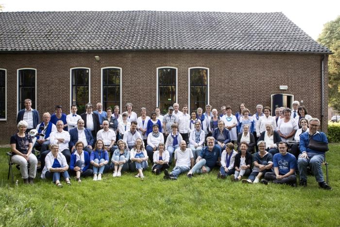 Het hele koor Onbeperkt Talent Nicola Richards Photograpy © BDU Media