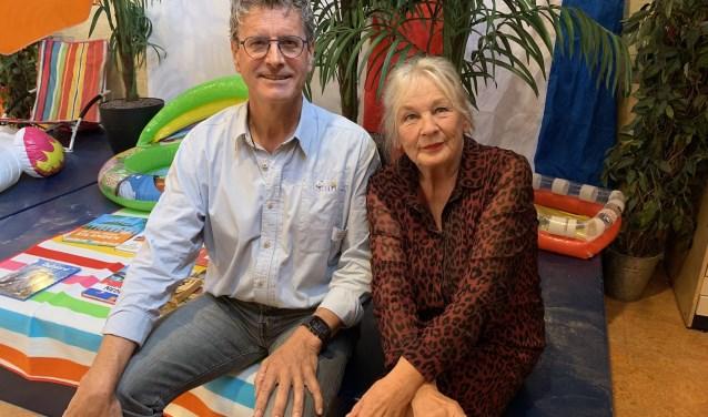 Jan Heijman en Ireen Elkhuizen beide 40 jaar in het onderwijs