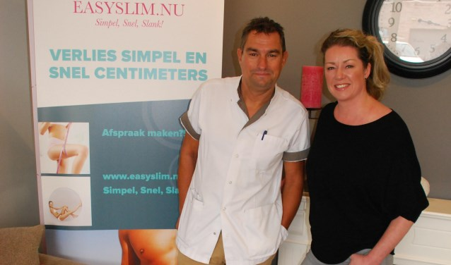 Pieterbas en Maddy van Easyslim.nu.