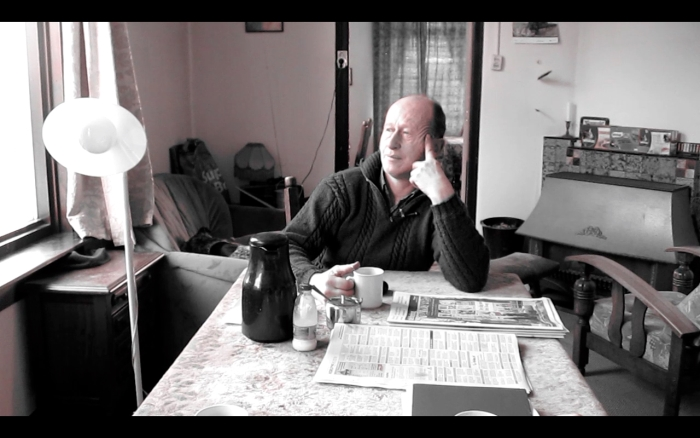 Screen shot Pieter van de Vlugt