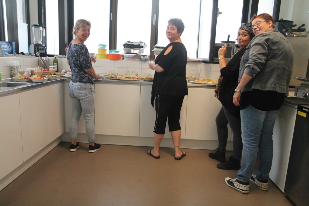 De vrijwilligers van het LunchCultuurtje. Hannie van de Veen © BDU media