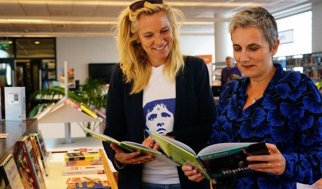 Heleen van Ketwich Verschuur (links) en Daphne Janson (rechts).