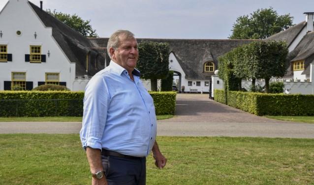 Jan Smeeing anno 2019 voor De Witte Hoeve. Samen met zijn ex-vrouw Corry van der Wardt runt hij de 50-jarige bouw- en onroerend goed onderneming.