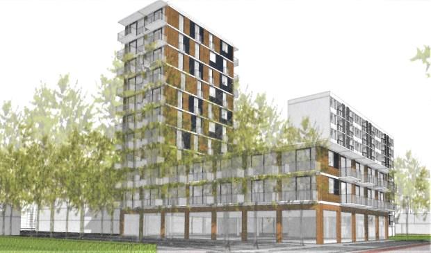 Een 'artist impression' van het toekomstige Operaplein en omgeving.