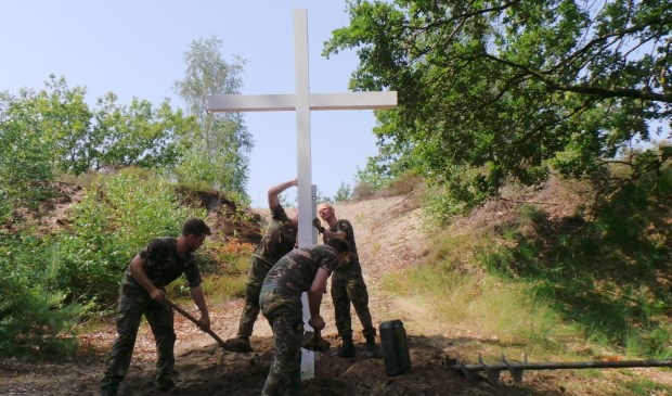 Op de plek van de executies is onlangs een apart herdenkingskruis geplaatst.