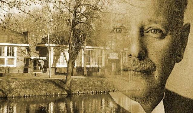 Links: SAKB gebouw, rechts: architect Arnold Ingwersen.