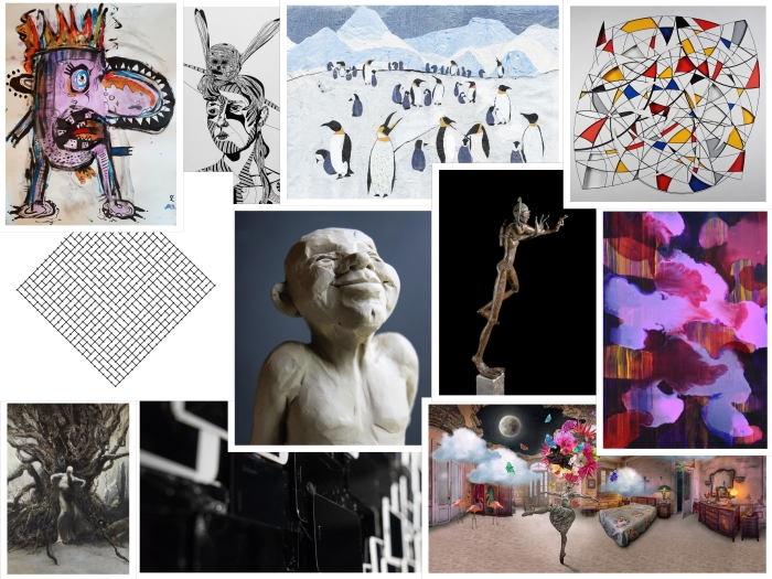 Kunstwerken te zien tijdens NULLLLL