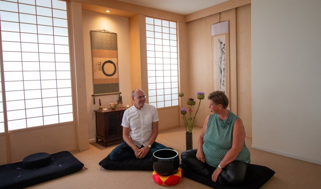 Evert Jan Kema en Yvonne Visser vieren hun tienjarig jubileum van Zen.nl.
