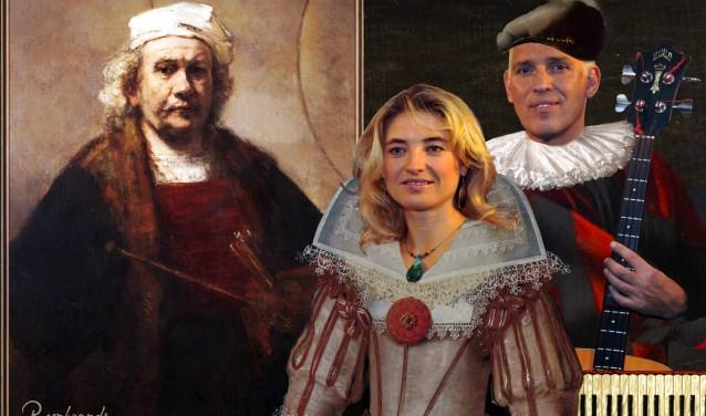 Hans Visser en Irena Filippova brengen een muzikale ode aan De Gouden Eeuw.