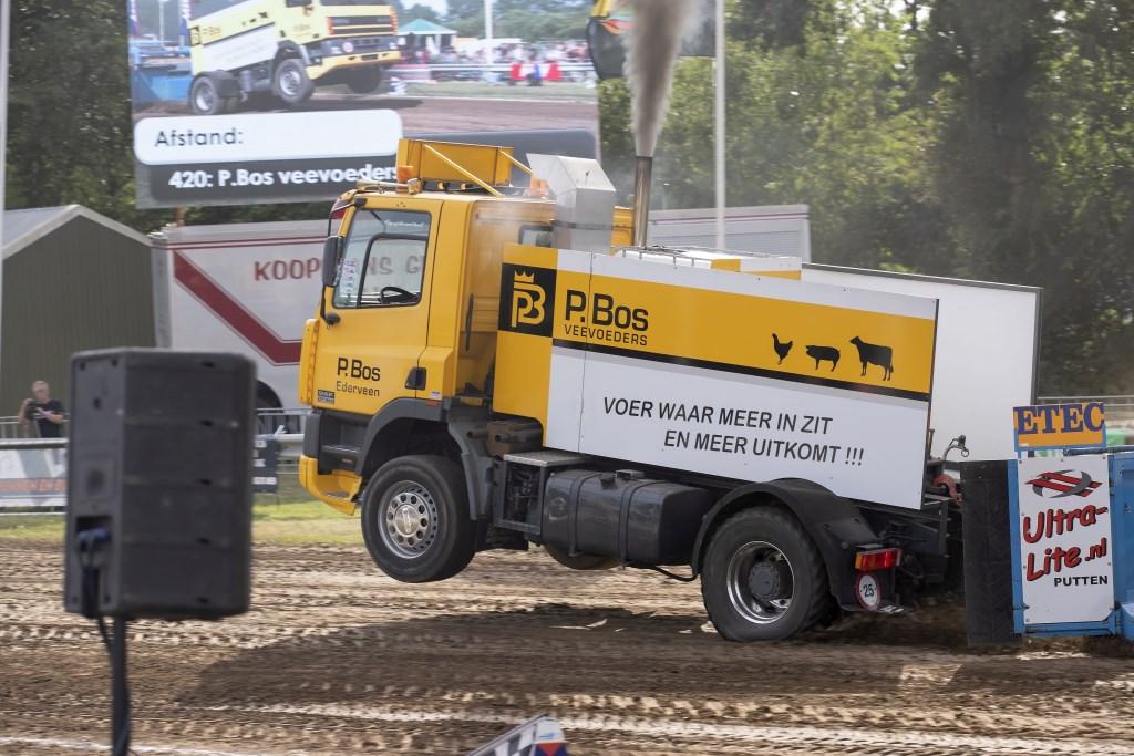 Truck P. Bos Veevoeders Ederveen, klasse 8500 kg sporttrucks. Rudy Linthorst © BDU Media
