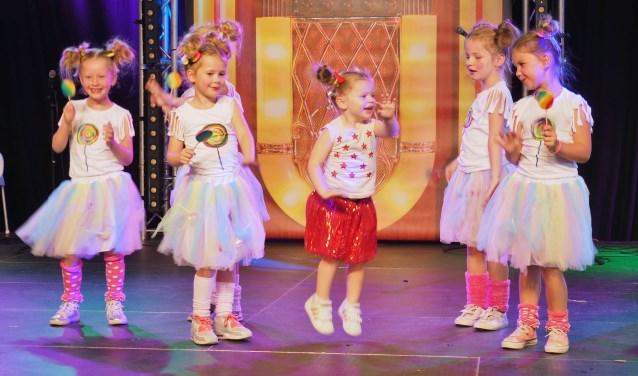 De Lolly pops waren tijdens Spaarndam's Got Talent geheel in stijl gekleed.