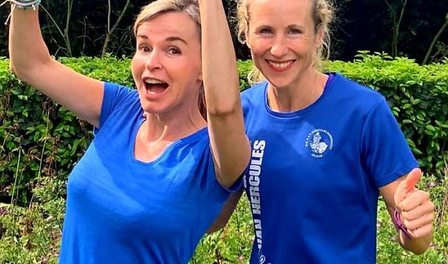 Initiatiefneemster Barbara Muller (links) en gynaecoloog Sabina de Weerd lopen voor de zelfstandigheid van kwetsbare zwangeren en jonge moeders.