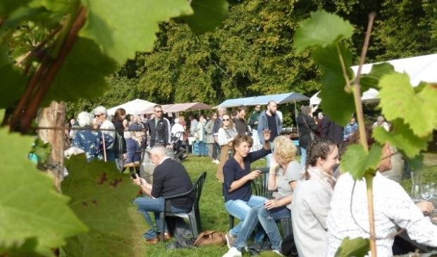 Oogstfeest op Wagenings Wijngoed
