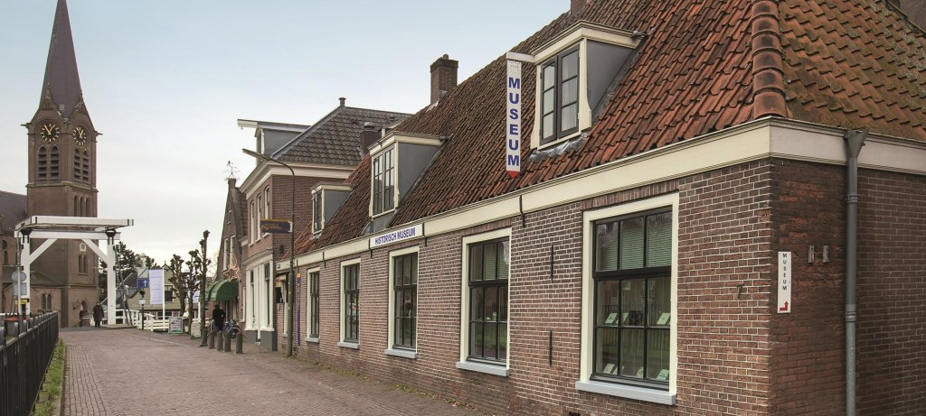 Het museum in de Kerkstraat. Piet de Boer © BDU media