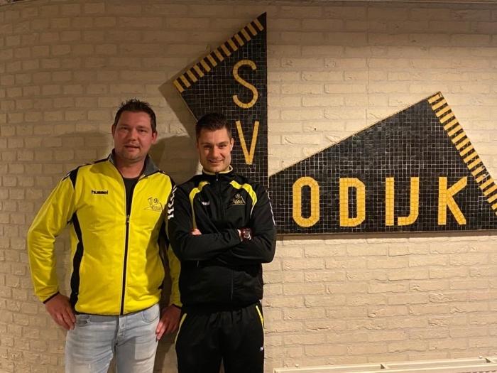 Rocco van Vliet en Marius Rutting