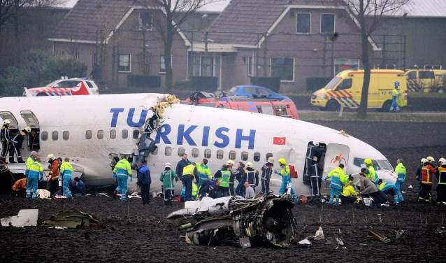 De crash bij Schiphol in 2009.