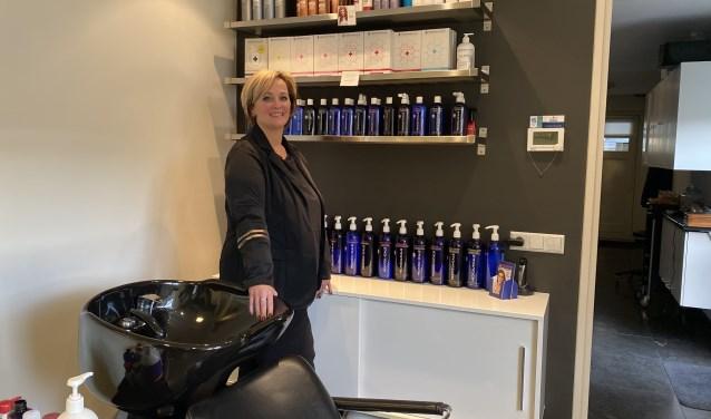 Linda van Grootveld: ,,Mijn motto is: mensen mooi maken en dat begint bij gezond haar en een gezonde hoofdhuid.''