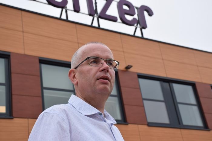 Jeroen van den Eijnden, senior system engineer bij Senzer