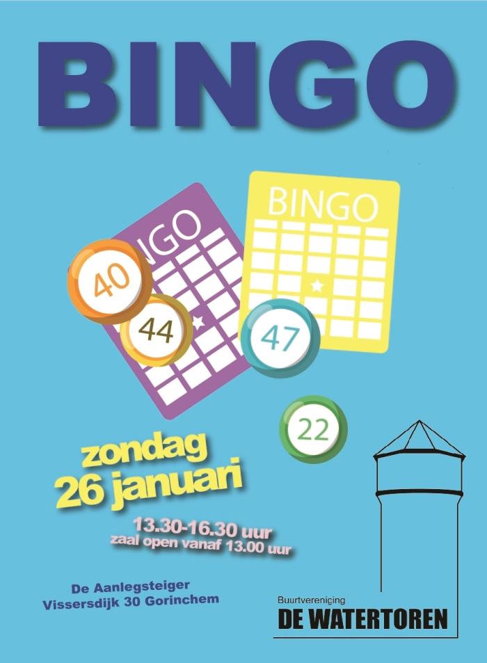 Bingo zondag 26 januari
