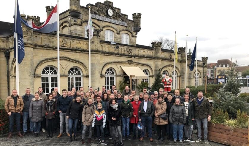 Het personeel vanDJSHekwerken genoot op 3 en 4 januari van de Limburgse gastvrijheid in Valkenburg.