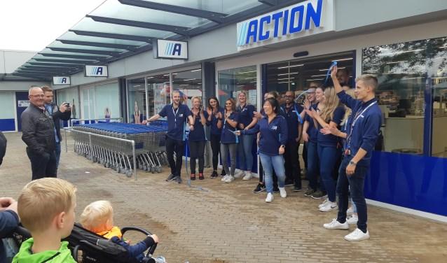 De langverwachte opening van de Action op het Merwedeplein was in september.