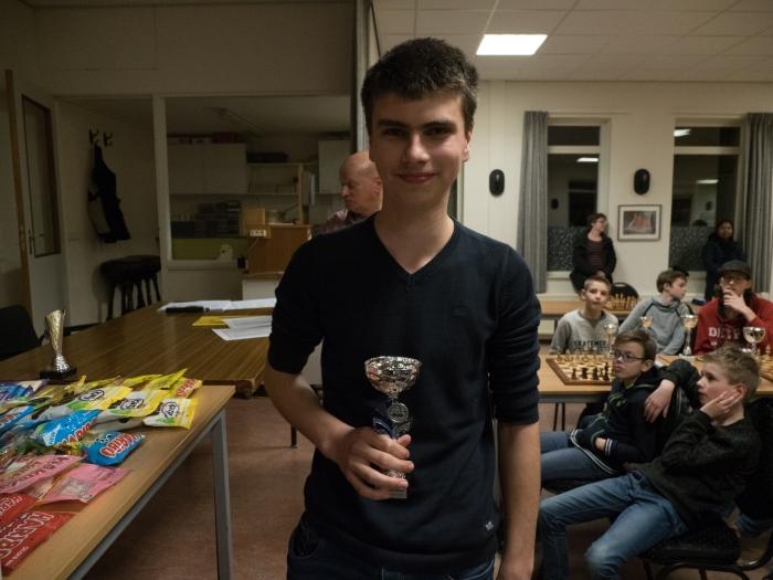 Willem Theunisse, de nieuwe jeugdkampioen