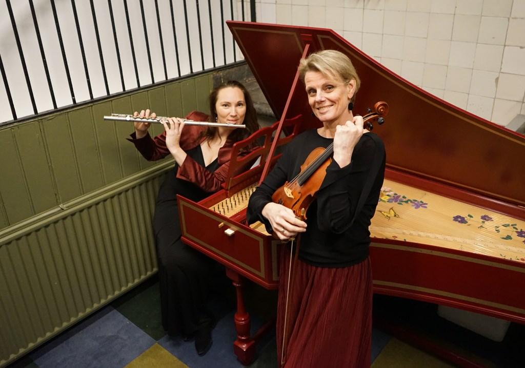 Laura de Boer en Cathrine Malcorps. Arthur Malcorps © BDU media