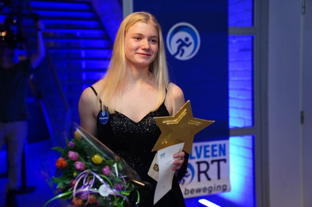 Annelotte Maitland mag zich talent van het jaar noemen.  Naomi Heidinga © BDU media