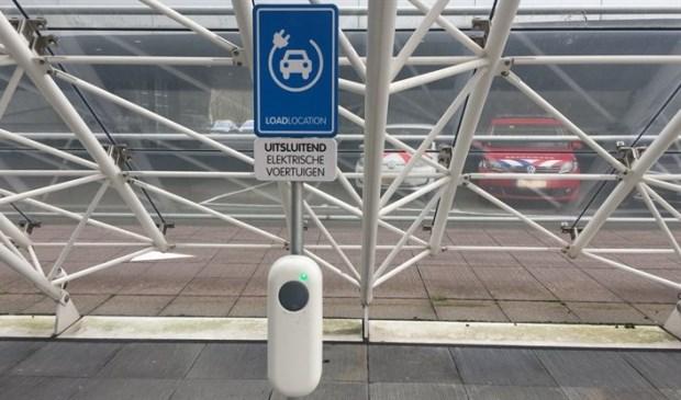Laadpunt voor elektrisch rijden