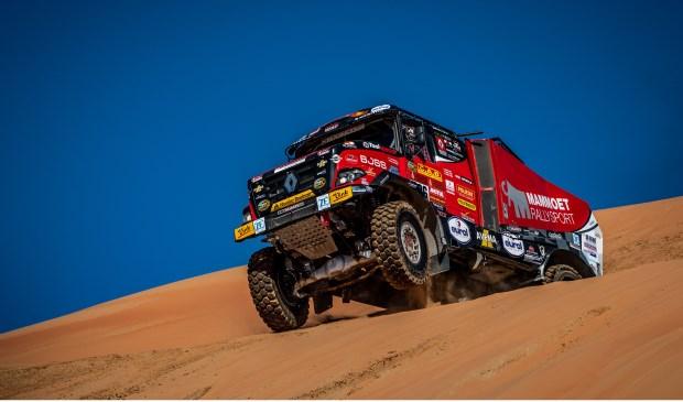 Harskamper Martin van den Brink sloot de Dakar Rally af met een achtste plaats in de slotetappe.