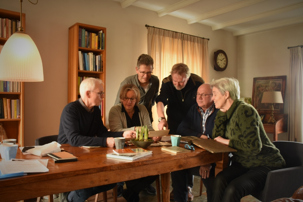 De werkgroep in overleg 4 en 5 mei comité © BDU media