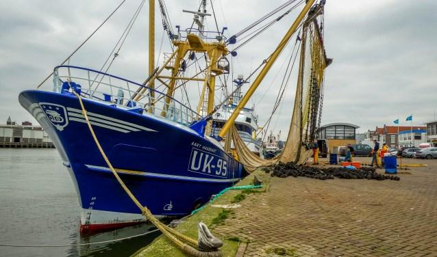 Schipper Jan de Boer uit Urk heeft, net als andere vissers uit Nederland, IJmuiden als verblijfshaven.