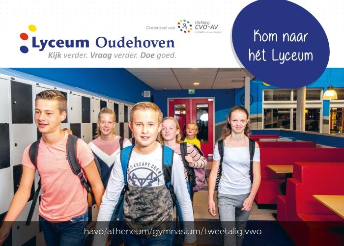 Leerlingen Lyceum Oudehoven