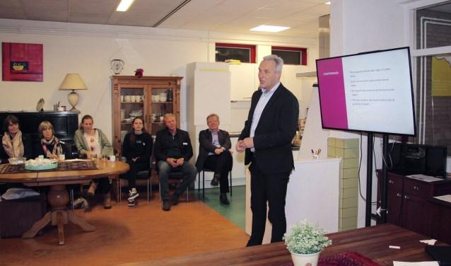 Wethouder Vos kondigde honderd woningen aan in Mastenbroek.