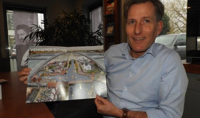 Perdaan wil out-of-the-box denken om zijn dorp Nieuw-Vennep meer op de kaart te zetten, zoals de plannen voor een Venneper Dome.