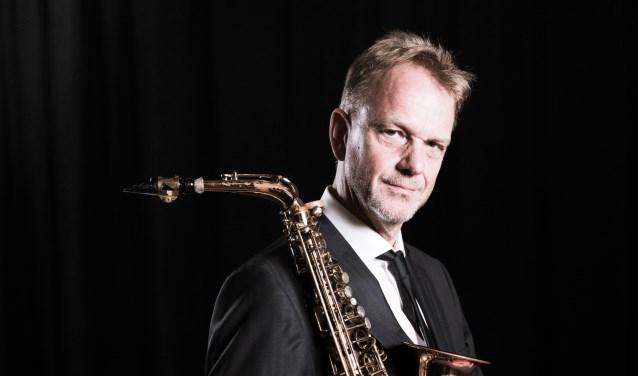 Arno Bornkamp treedt op bij Concertpodium Soest.