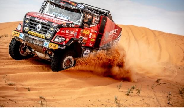 Martin van den Brink boekte zijn beste resultaat in de Dakar Rally van 2020.