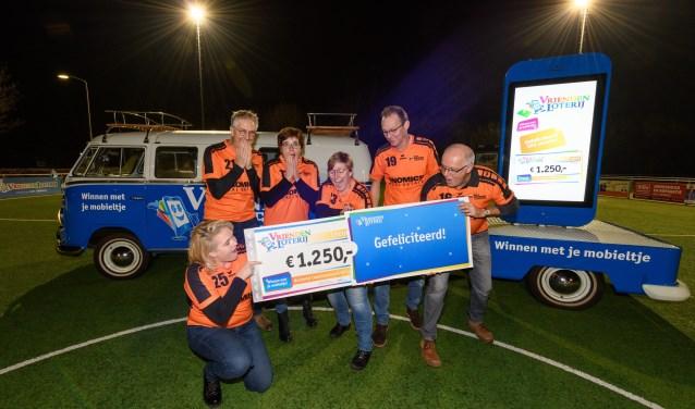 Korfbalvereniging GKV Enomics ontvangt een eenmalige extra bijdrage van 1.250 euro van de VriendenLoterij.